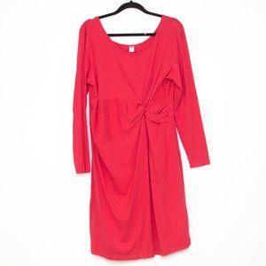 Old Navy Pink Stretch Maternity Dress XL